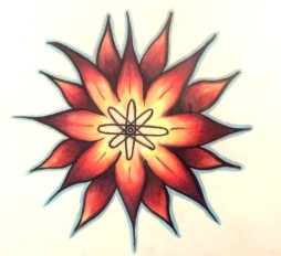 atom flower